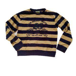Gatti Blue Striped Sweatshirt Boy Size 14